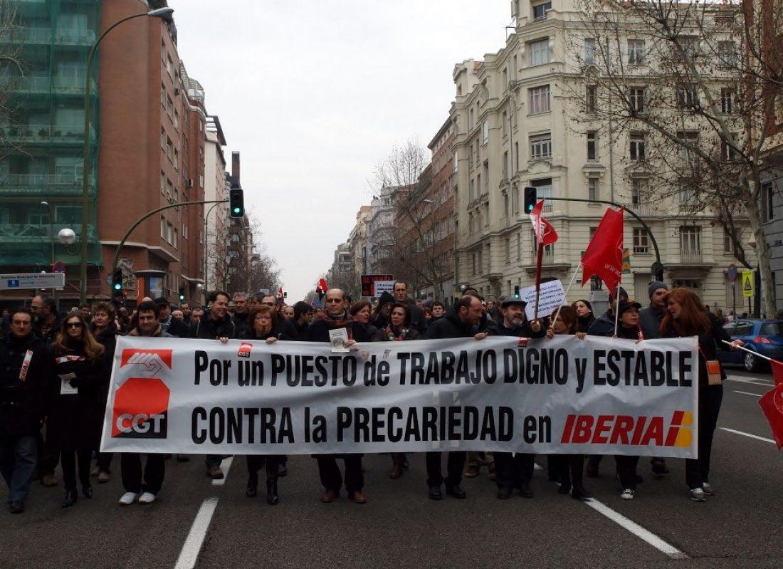 Despido de trabajadores enfermos por la aplicación torticera del ARTº 52 del E.T en Iberia