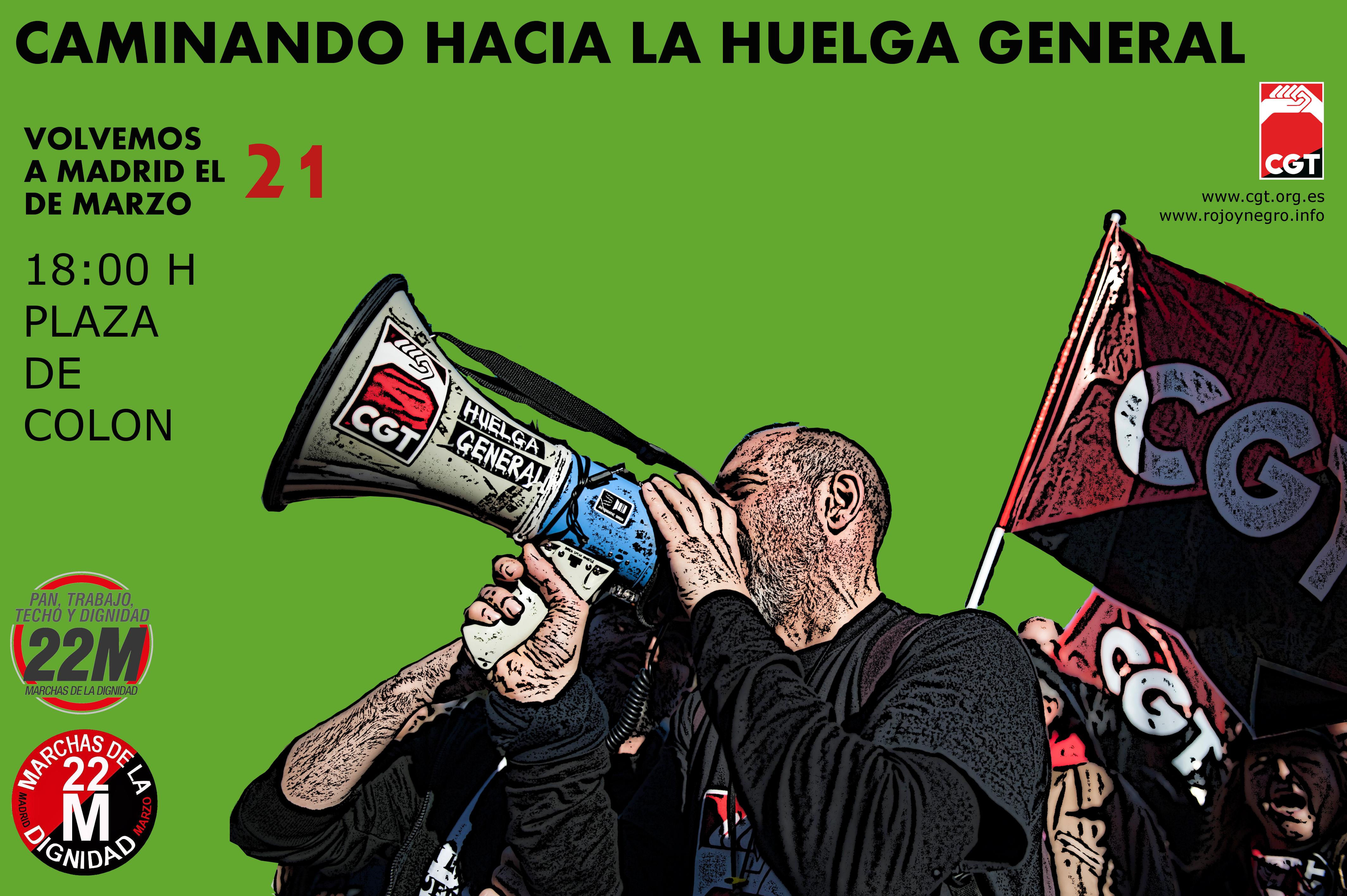 21M Marchas de la Dignidad