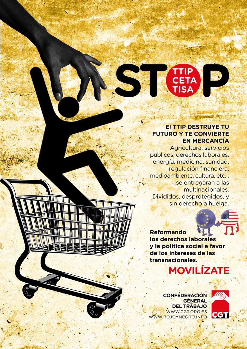 STOP TTIP – CETA – TISA