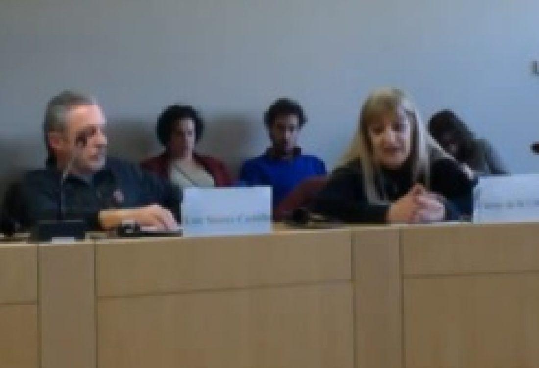 """Video del acto en Bruselas: """"La impunidad de crímenes contra la humanidad en el estado español"""""""