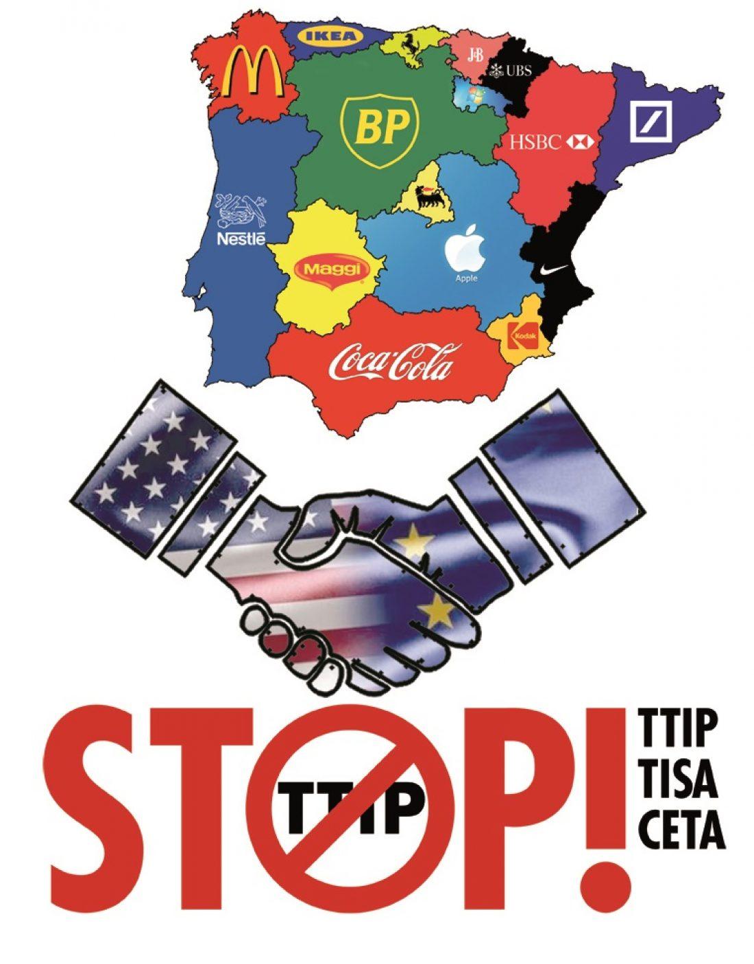 Las/os europarlamentarias/os deben proteger a la ciudadanía ante la amenaza del tratado comercial entre UE-EEUU