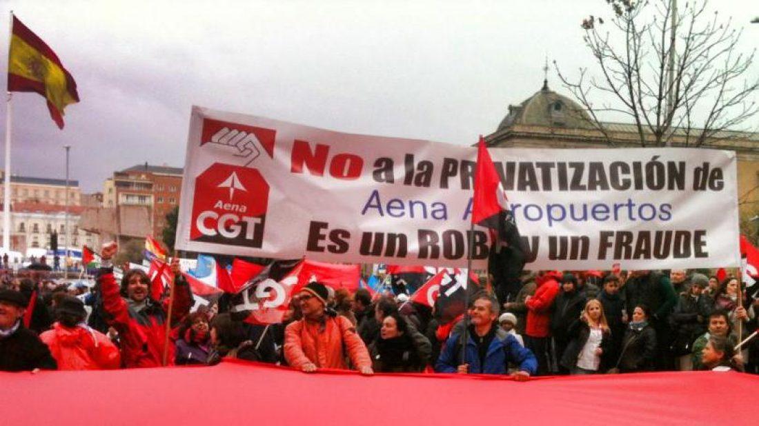 Rajoy malvendió Aena por 58 €, hoy pagan por Aena 100€ por cada acción