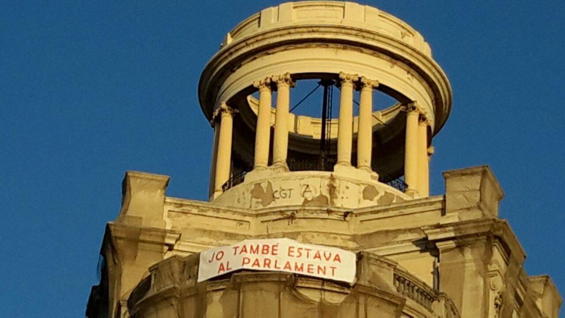 La CGT de Barcelona ante la notificación de ingreso en prisión para los 8 condenados por los hechos del parlament