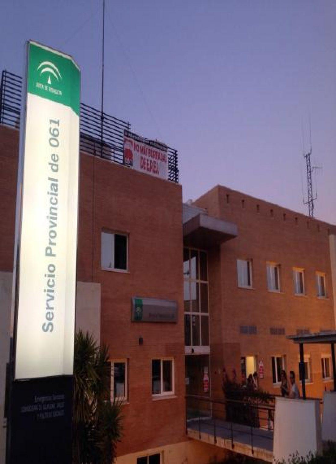 Se cumplen 11 días de encierro en el 061 Málaga