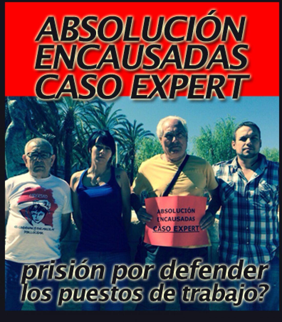 Solidaridad con los imputados e imputadas del caso Expert