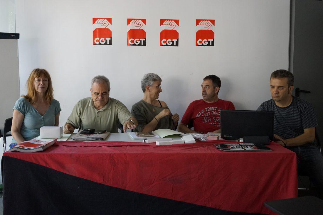 Celebrado el Pleno anual de CGT – País Valencià i Múrcia
