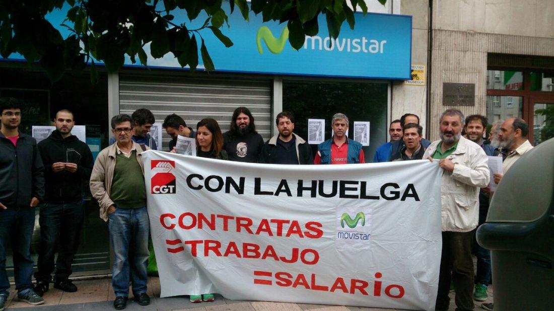 Solidaridad con el colectivo de técnicos y técnicas en huelga indefinida de Telefónica-Movistar