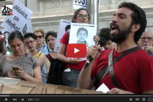 Vídeo: #Ayotzinapa7Meses Eurocaravana 43 en Madrid