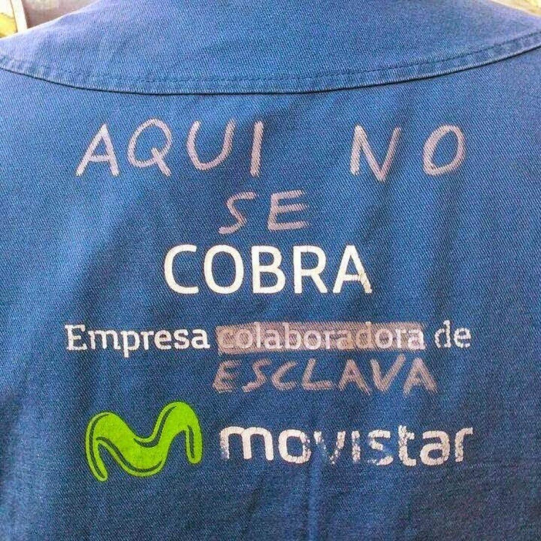 La huelga de trabajadoras y trabajadores de contratas Movistar se extiende a la plantilla directa de telefónica