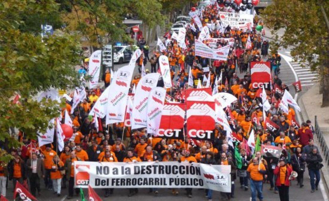 Son urgentes más ingresos en las plantillas de RENFE y ADIF