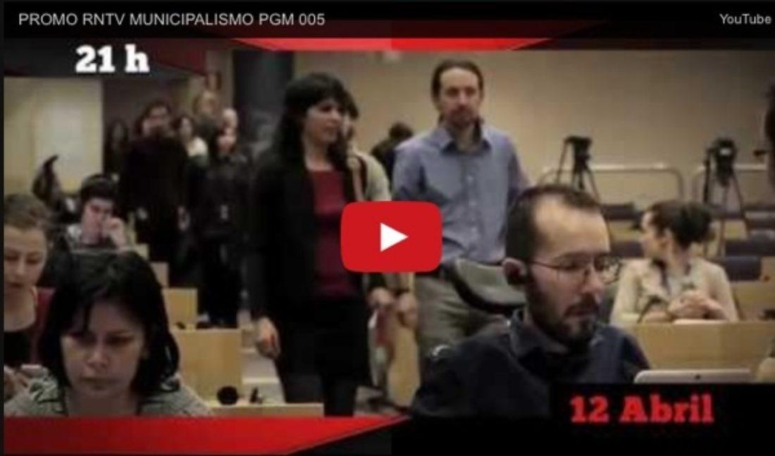 Próximo programa RNtv: Municipalismo, Autogestión y Democracia Directa