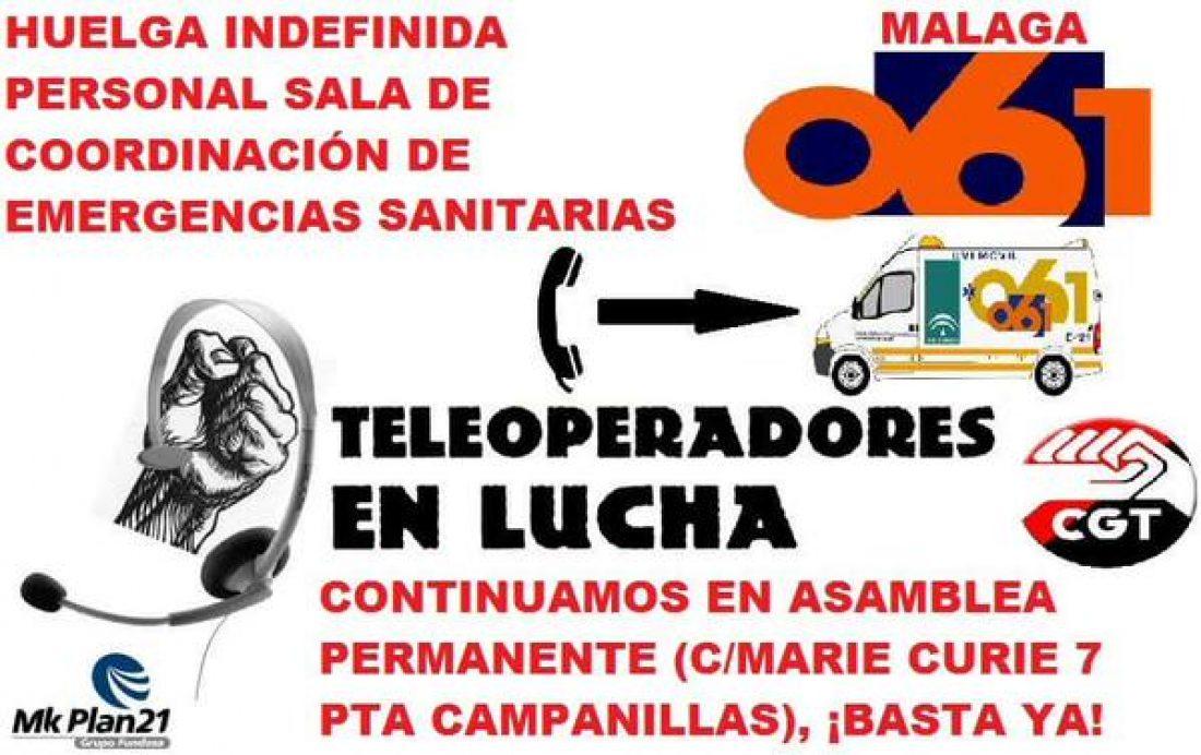 """80 días de #encierro061malaga y sexto en huelga indefinida, cuando se cumpla el 90, se quemarán los """"JUAS"""""""