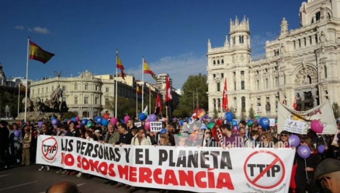 El Parlamento Europeo suspende la votación y el debate a la resolución del TTIP debido a la presión ciudadana
