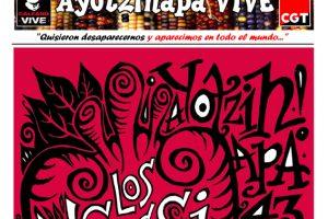 «Ayotzinapa VIVE». Mayo 2015