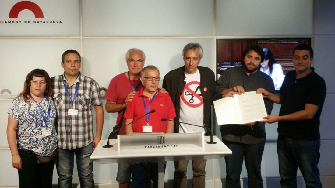CiU, ERC, PSC, ICV y la CUP piden desde el Parlament de Catalunya que se archive el Caso Expert