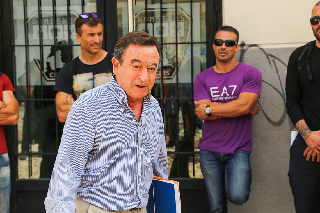 Bomberos de la región de Murcia denuncian el derroche de fondos públicos