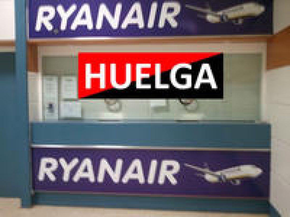 Tercer día de Huelga en Ryanair