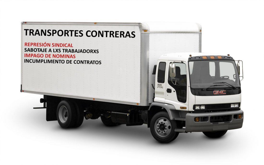 Transportes Contreras despide al delegado sindical de CGT