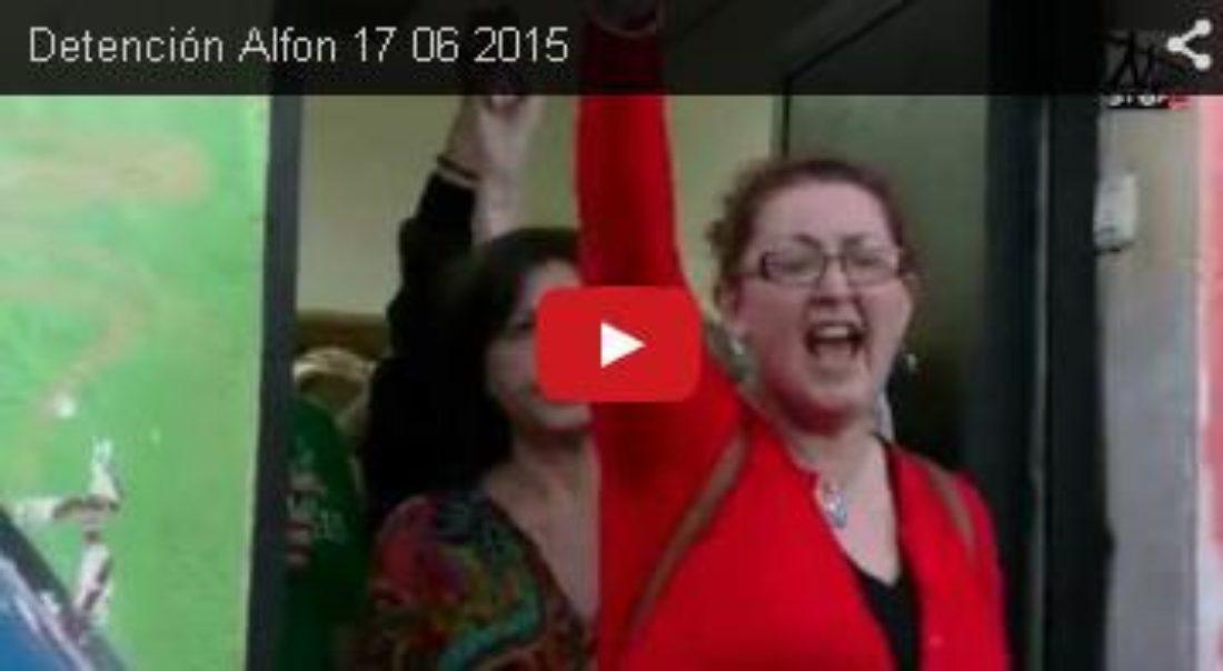 Vídeo: Detención Alfon 17 06 2015