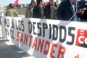 El Banco Santander despide a 157 trabajadores de su servicio de Activación de Tarjetas