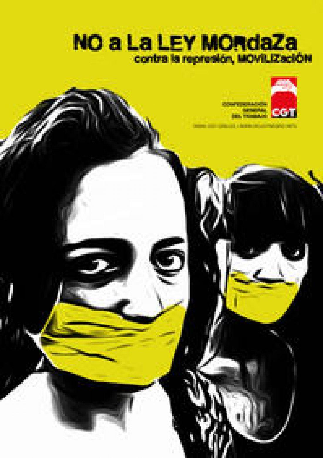 Movilizaciones Contra las Leyes Mordaza. Convocatorias