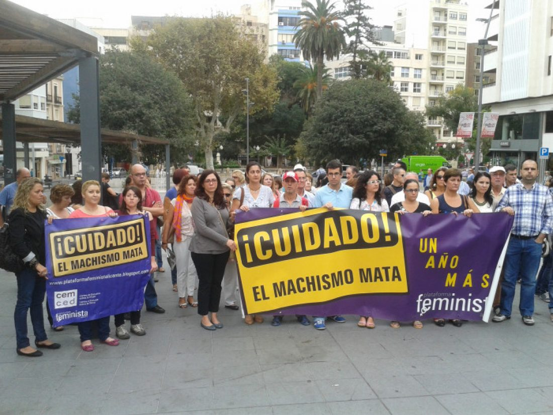 13-J Alacant: Concentración de urgencia convocada por la Plataforma Feminista
