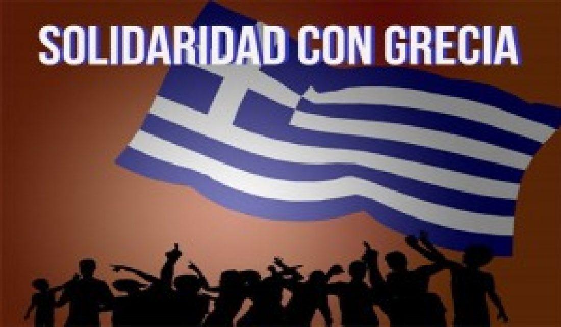 No llores por Tsipras, apoya al pueblo griego