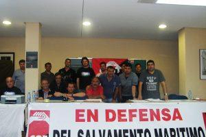 La CGT gana, por quinta vez consecutiva, las elecciones sindicales en el Sector de Salvamento Marítimo