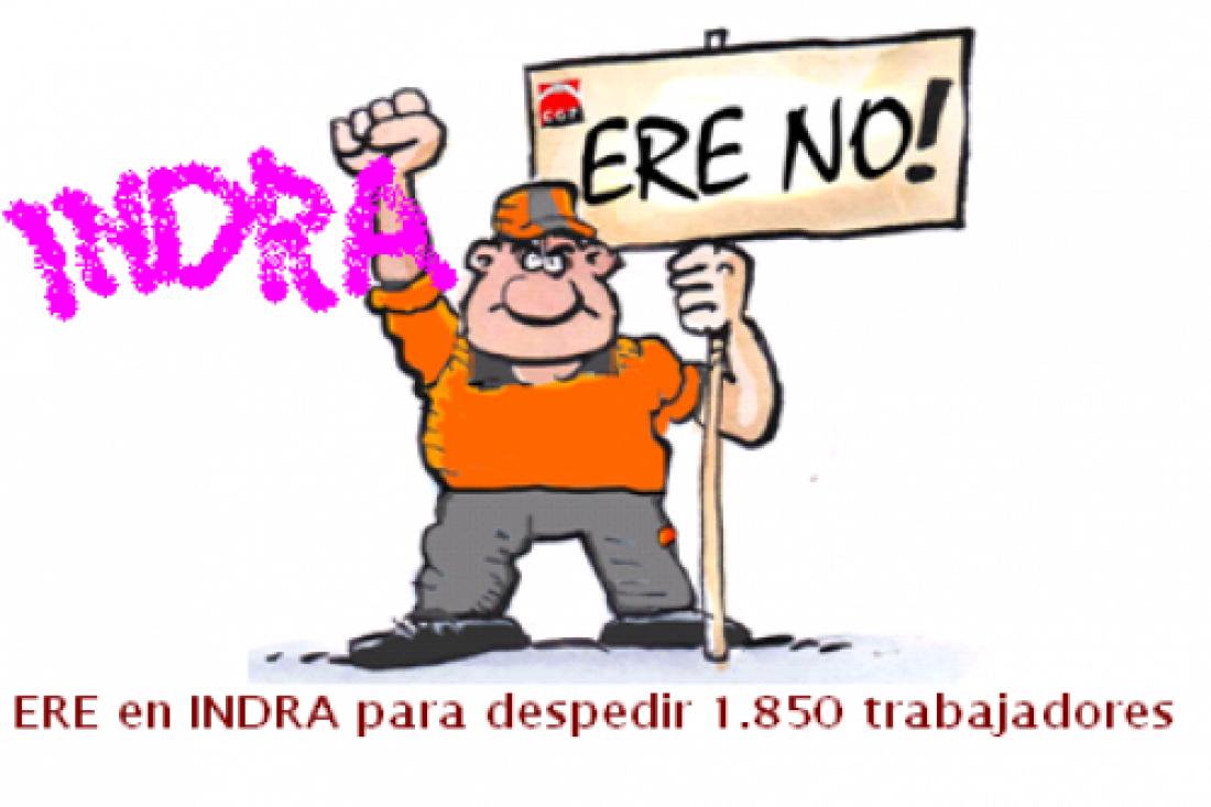 Marcha al  Parlament contra los despidos en Indra