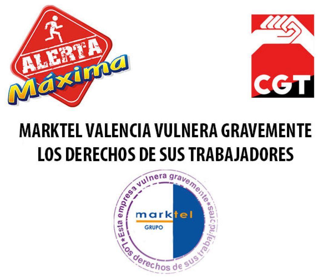 CGT pisa el acelerador en una campaña contra la represión laboral y sindical en la empresa MARKTE