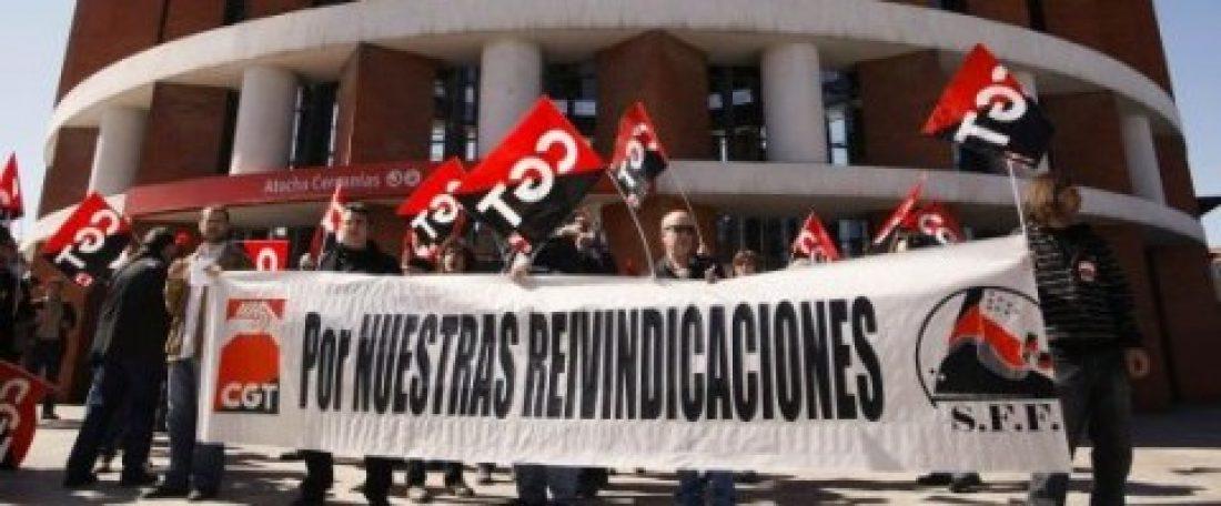 Motivos más que de sobra para ir a la huelga en RENFE