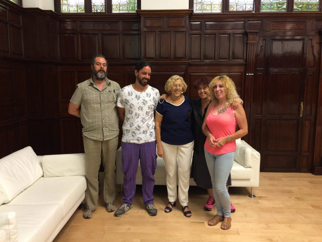 CGT se reúne con Manuela Carmena