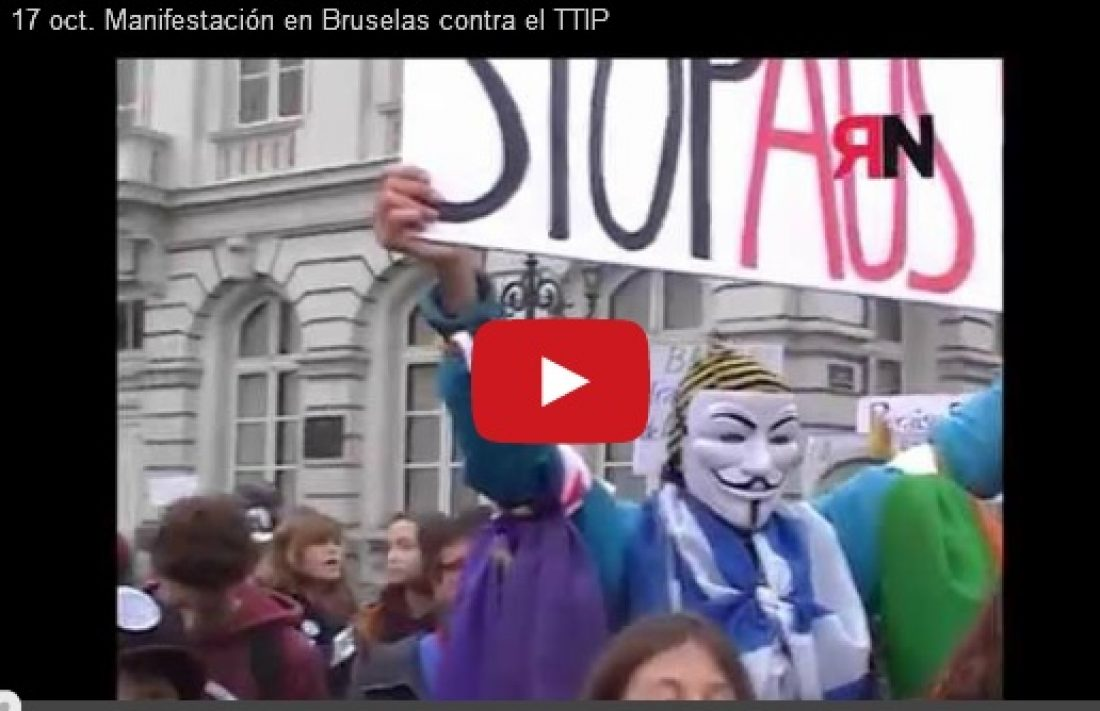 Vídeos: Manifestaciones 17 oct. EuroMarchas2015