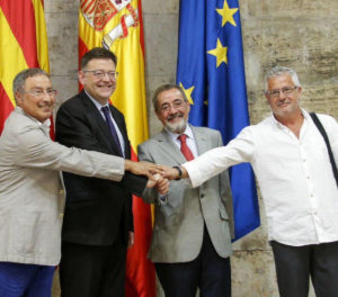 La CGT se opone a que la Generalitat destine otros 5´2 millones de euros a subvencionar a los sindicatos UGT y CCOO y a la patronal Cierval