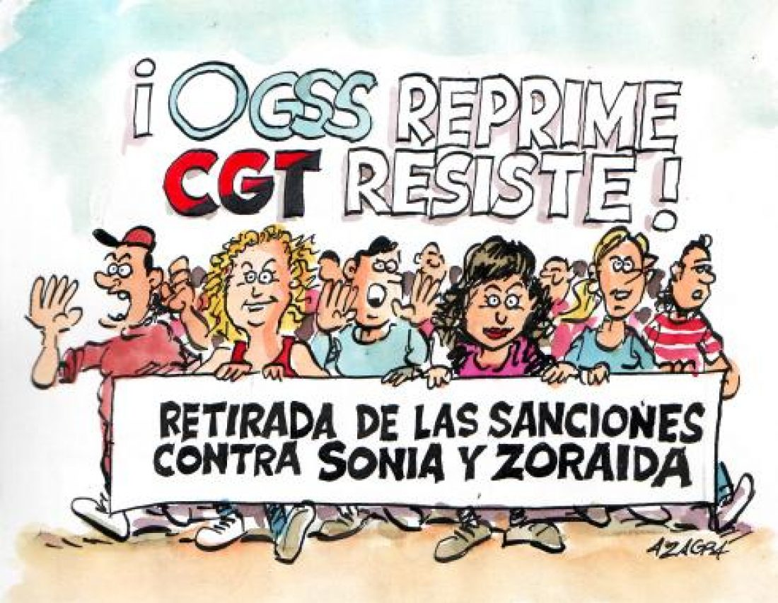 Revocadas las sanciones de Sonia y Zoraida