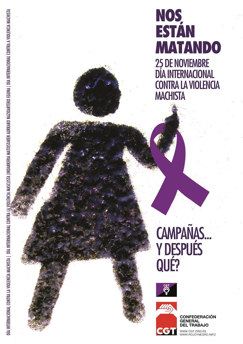 25-N 2011: Que no nos cuenten cuentos. El patriarcado mata