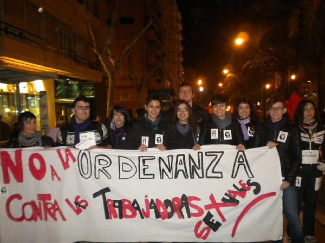 Dones Lliures de CGT-Alacant consigue que se derogue la Ordenanza de Mendicidad y Prostitución