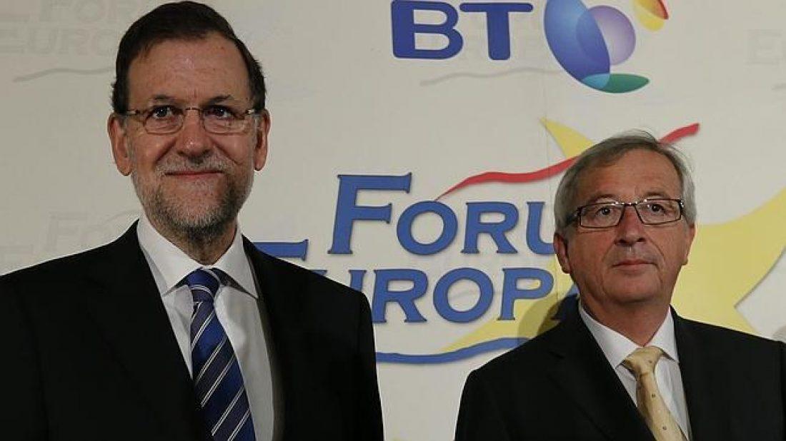 Rajoy entrega un premio a un líder europeo desleal con el resto de los estados, que convirtió a Luxemburgo en paraíso Fiscal