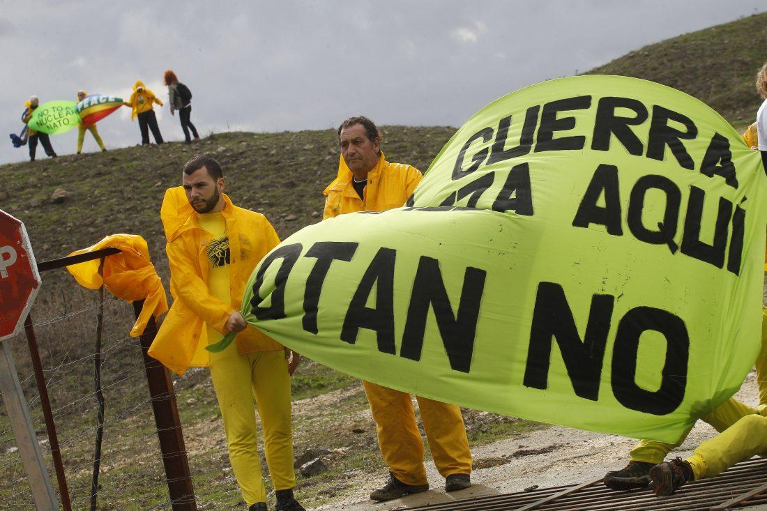 La CGT se solidariza con las personas participantes en las protestas contra las maniobras de la OTAN en Cádiz y otros puntos de España
