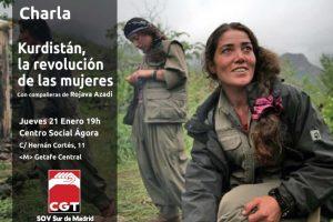 Charla: Kurdistán, la revolución de las mujeres