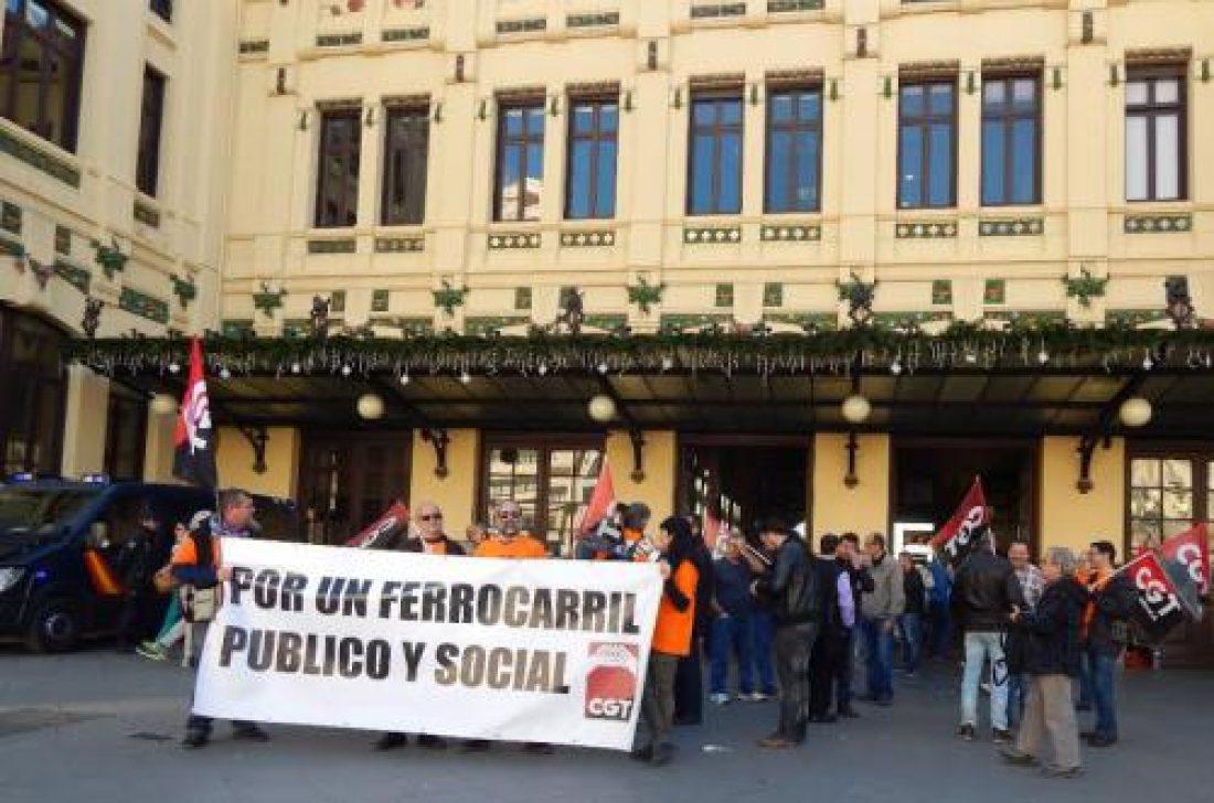 CGT contra la privatización y supresión de servicios públicos ferroviarios a contrarreloj y con gestores en «funciones»
