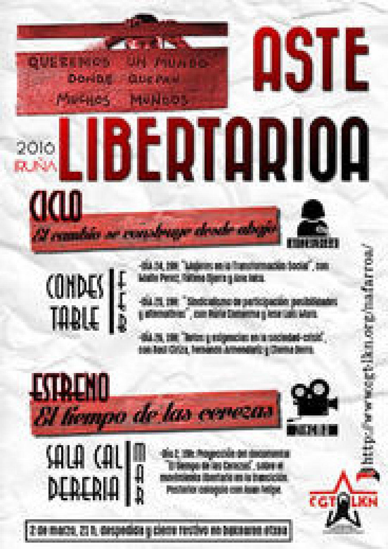 Semana Libertaria 2016 Iruña