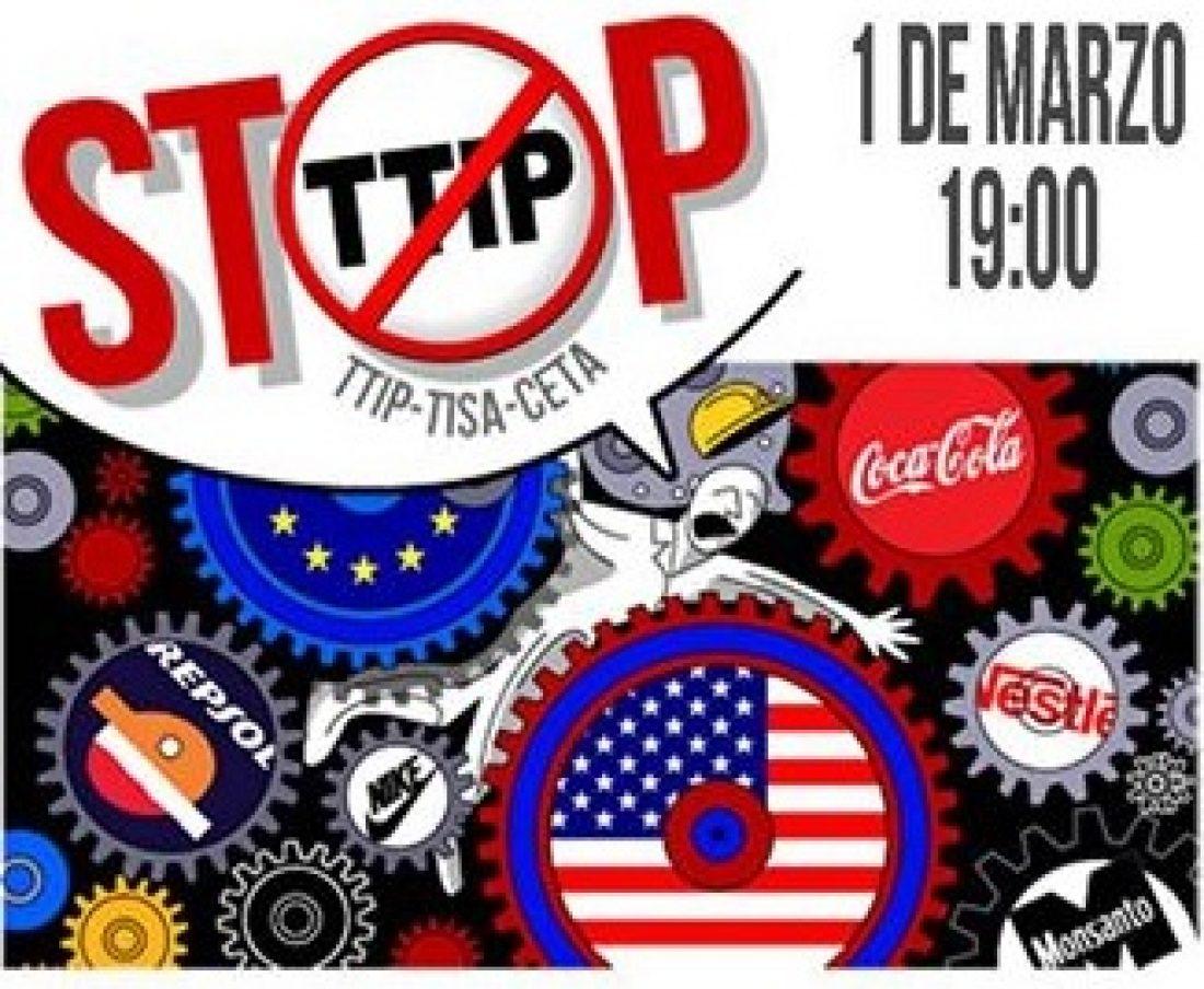 La Ciudadanía Europea y Americana contra el TTIP