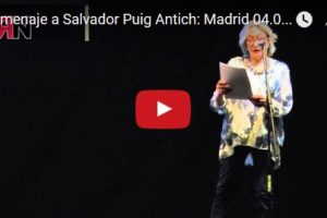 Vídeo: Homenaje a Salvador Puig Antich: Madrid 04.03.16
