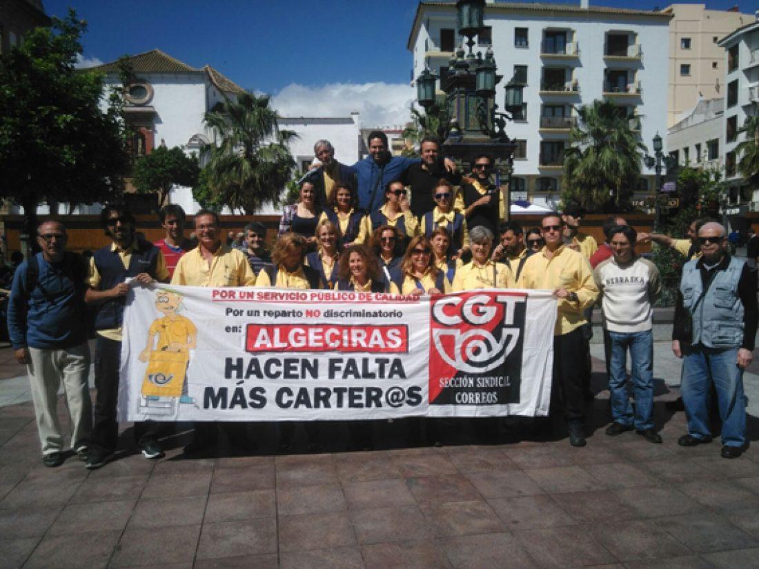 Huelga indefinida en Correos Algeciras