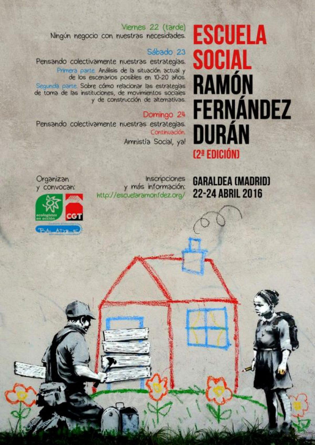 En marcha una nueva edición de la Escuela Social Ramón Fernández Durán