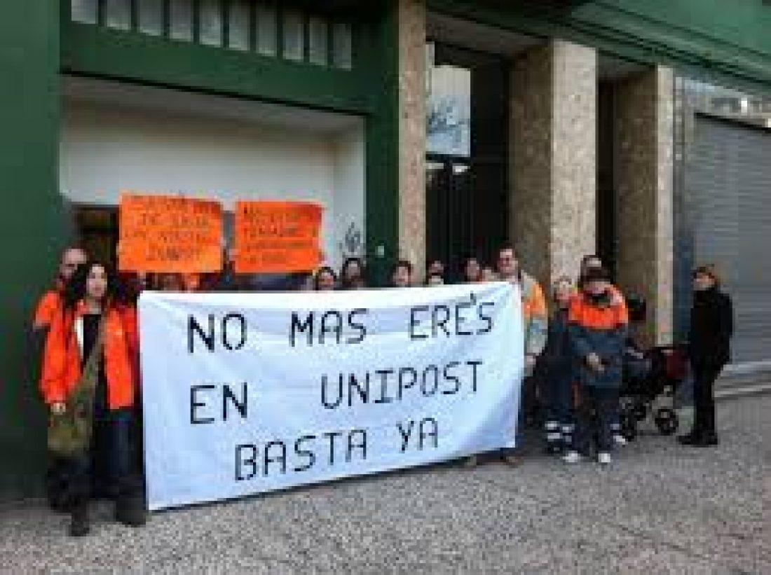 Se inicia la negociación de un nuevo ERTE en Unipost