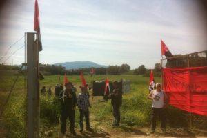 21 de mayo 2016, 11:00 h. acto en Pizarra en apoyo a los imputados por la simbólica ocupación de una parcela de tierra  en este pueblo malagueño en abril 2013
