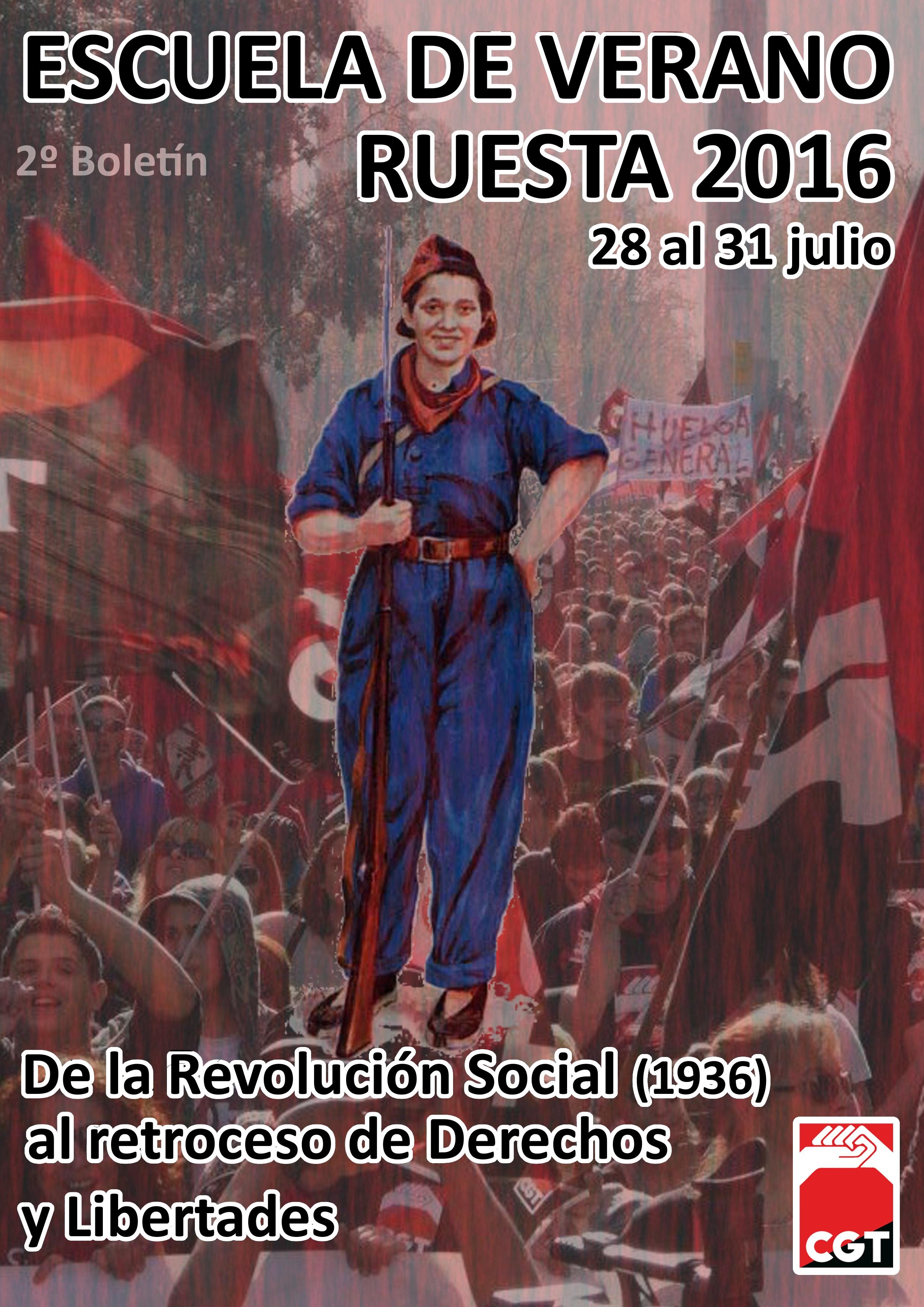 Escuela Libertaria Ruesta 2016