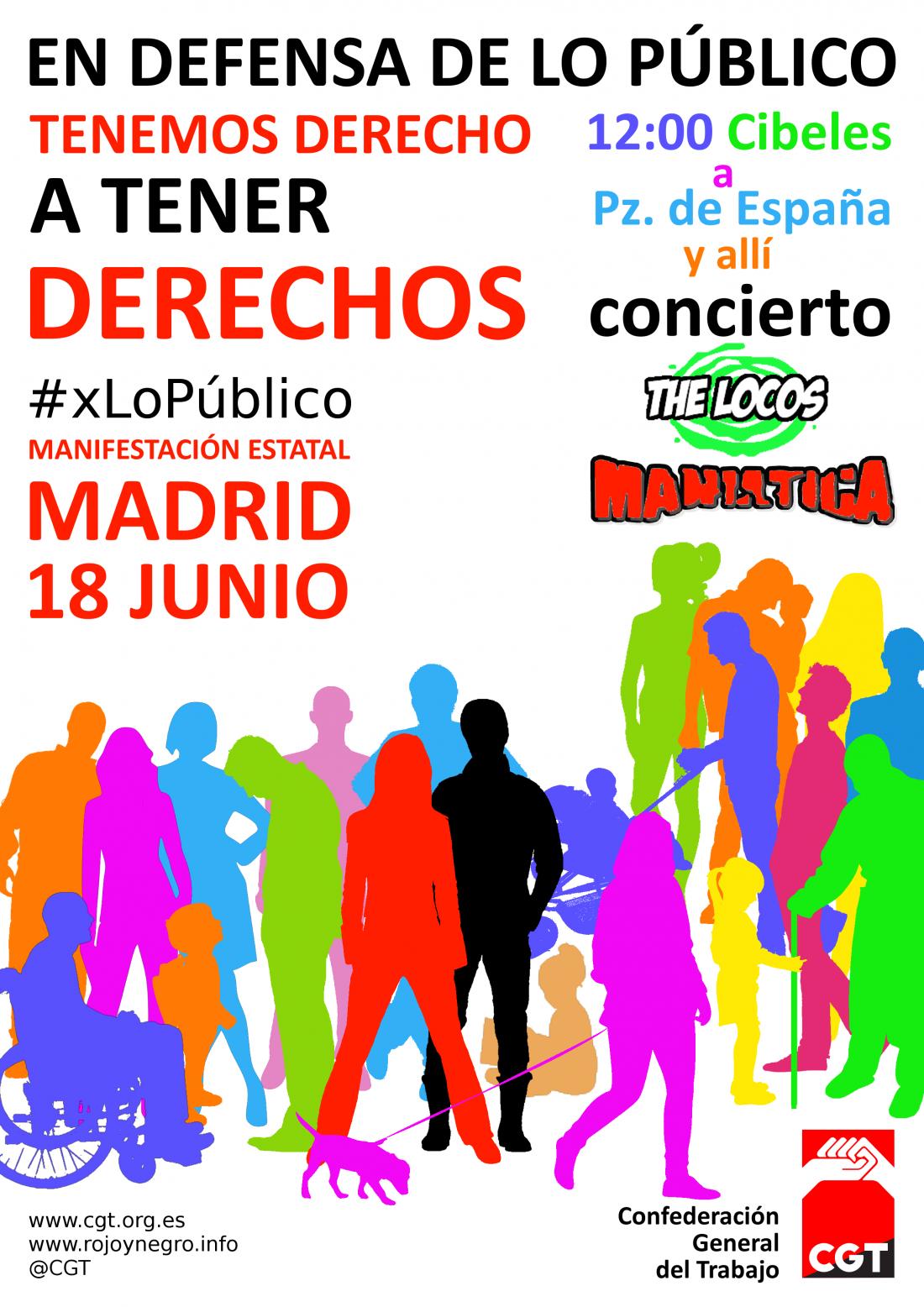 Concierto Después de la Manifestación #xLoPúblico